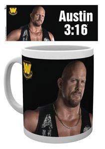 WWE WRESTLING MUG AUSTIN