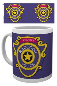 RESIDENT EVIL MUG RACOON POLICE