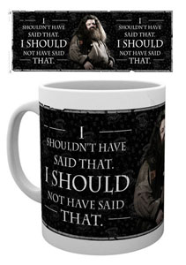 MUG HARRY POTTER HAGRID QUOTE