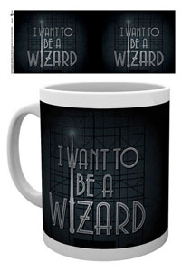 MUG LES ANIMAUX FANTASTIQUES I WANT TO BE A WIZARD