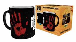MUG WALKING DEAD HAND PRINT DECOR THERMIQUE