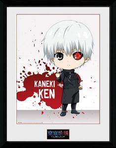 Tokyo Ghoul poster encadré Chibi Ken 45 x 34 cm