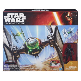 STAR WARS EPISODE VII VEHICULE AVEC FIGURINE 2015 FIRST ORDER SPECIAL FORCES TIE FIGHTER EXCLUSIVE