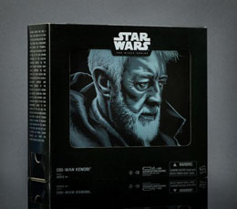 Photo du produit STAR WARS EPISODE IV BLACK SERIES FIGURINE OBI-WAN KENOBI 2016 EXCLUSIVE (EMBALLAGE ENDOMMAGE) Photo 2