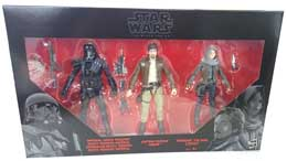 STAR WARS ROGUE ONE BLACK SERIES PACK FIGURINES REBELS VS. IMPERIALS 2016 EXCLUSIVE