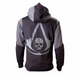 ASSASSIN´S CREED IV BLACK FLAG SWEATER A CAPUCHE LOGO