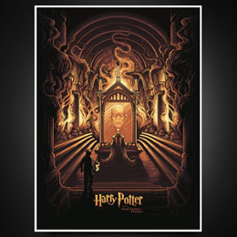 LITHOGRAPHIE HARRY POTTER & THE MIRROR OF ERISED - HARRY POTTER