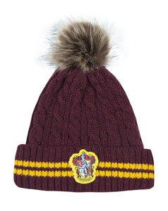 BONNET HARRY POTTER A POM-POM GRYFFINDOR