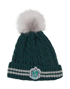BONNET HARRY POTTER A POM-POM SLYTHERIN
