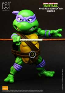 Photo du produit LES TORTUES NINJA FIGURINE HYBRID METAL DONATELLO 14 CM Photo 1