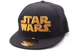 CASQUETTE BASEBALL STAR WARS GOLDEN LOGO