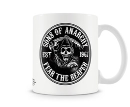 MUG SONS OF ANARCHY FEAR THE REAPER