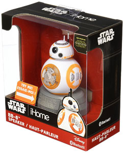 STAR WARS HAUT-PARLEUR BLUETOOTH BB-8 18 CM