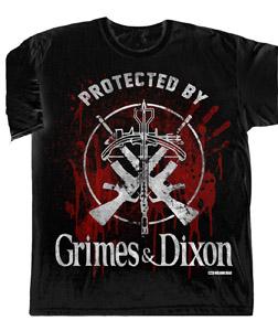 T-SHIRT WALKING DEAD GRIMES & DIXON PROTECTION