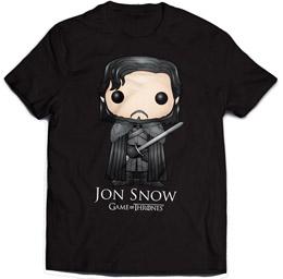 GAME OF THRONES T-SHIRT JON SNOW BLING ART