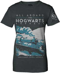 HARRY POTTER T-SHIRT FEMME HOGWARTS EXPRESS