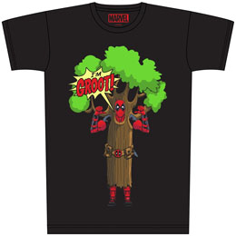 DEADPOOL T-SHIRT I AM GROOT