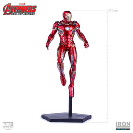 Photo du produit AVENGERS L'ERE D'ULTRON STATUETTE IRON MAN 1/10 MARK XLV