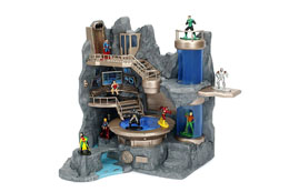 Photo du produit DC COMICS DIORAMA NANO METALFIGS BATCAVE Photo 1