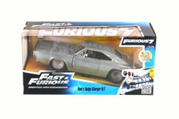 Photo du produit FAST & FURIOUS 1/24 1970 1968 DODGE CHARGER R/T METAL Photo 1