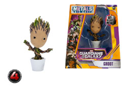 Photo du produit LES GARDIENS DE LA GALAXIE METALS FIGURINE DIECAST POTTED GROOT 10 CM Photo 1