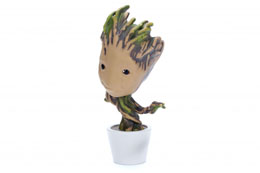 Photo du produit LES GARDIENS DE LA GALAXIE METALS FIGURINE DIECAST POTTED GROOT 10 CM Photo 3