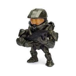 HALO METALS FIGURINE DIECAST MASTER CHIEF 10 CM