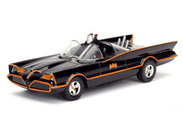 BATMAN 1/32 1966 CLASSIC TV SERIES BATMOBILE METAL