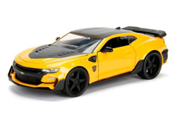 TRANSFORMERS THE LAST KNIGHT 1/24 BUMBLEBEE CHEVROLET CAMARO METAL