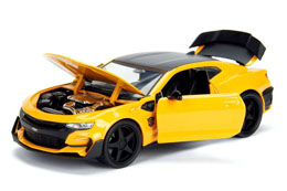 Photo du produit TRANSFORMERS THE LAST KNIGHT 1/24 BUMBLEBEE CHEVROLET CAMARO METAL Photo 1