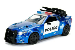 Photo du produit TRANSFORMERS THE LAST KNIGHT BARRICADE POLICE CAR METAL 1/24 Photo 1