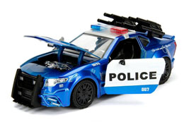 Photo du produit TRANSFORMERS THE LAST KNIGHT BARRICADE POLICE CAR METAL 1/24 Photo 2