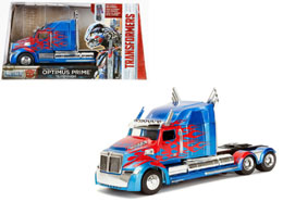 Photo du produit REPLIQUE TRANSFORMERS THE LAST KNIGHT 1/24 OPTIMUS PRIME WESTERN STAR 5700 XE PHANTOM Photo 1