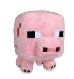MINECRAFT PELUCHE BABY PIG 15 CM