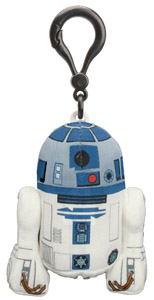 STAR WARS PORTE-CLE PELUCHE SONORE R2-D2