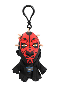 STAR WARS PORTE-CLE PELUCHE SONORE DARTH MAUL