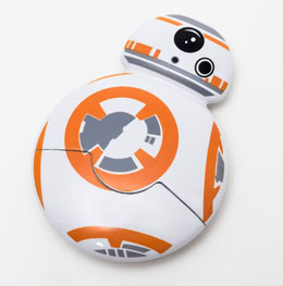 Photo du produit STAR WARS EPISODE VII COUTEAU A PIZZA BB-8 Photo 1
