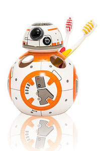 STAR WARS EPISODE VII PORTE BROSSE À DENTS BB-8