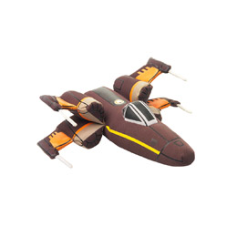PELUCHE STAR WARS EPISODE VII VEHICULE MILLENNIUM POE'S X-WING FIGHTER