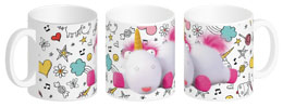 MOI, MOCHE ET MECHANT 3 MUG CERAMIQUE FLUFFY