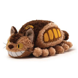STUDIO GHIBLI PELUCHE LITTLE FLUFFY CAT BUS 20 CM