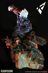 STREET FIGHTER DIORAMA 1/6 ONI AKUMA HEO EU EXCLUSIVE