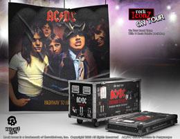 Photo du produit AC/DC STATUETTE ROCK IKONZ ON TOUR HIGHWAY TO HELL CAISSE DE TOURNÉE + DÉCOR DE SCÈNE Photo 1