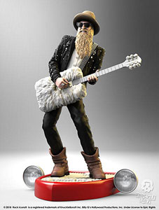 BILLY F GIBBONS STATUETTE ROCK ICONZ 22 CM