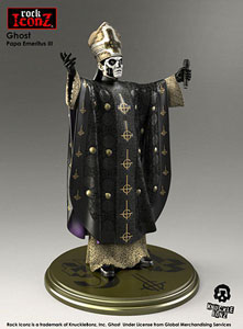 Photo du produit GHOST STATUETTE ROCK ICONZ PAPA EMERITUS III 22 CM Photo 1