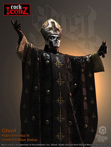 Photo du produit GHOST STATUETTE ROCK ICONZ PAPA EMERITUS III 22 CM Photo 2