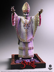 Photo du produit GHOST STATUETTE ROCK ICONZ PAPA NIHIL LIMITED EDITION 23 CM Photo 1