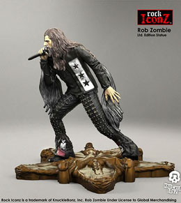 Photo du produit ROB ZOMBIE STATUETTE ROCK ICONZ 20 CM Photo 1