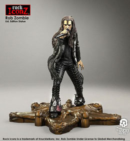 Photo du produit ROB ZOMBIE STATUETTE ROCK ICONZ 20 CM Photo 2