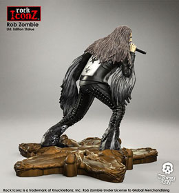 Photo du produit ROB ZOMBIE STATUETTE ROCK ICONZ 20 CM Photo 3